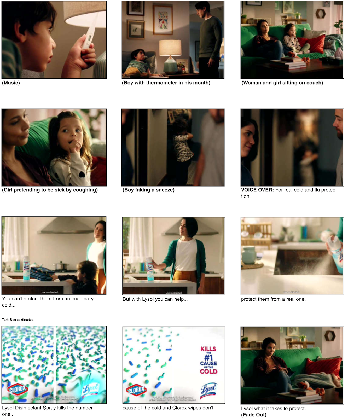 Lysol can't quickly clean up this mess of anti-Clorox ads